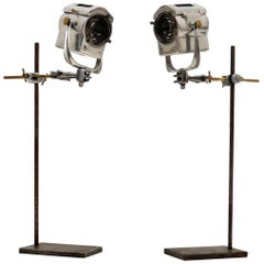 1950s Pair of Vintage Spotlights/Table Lamps