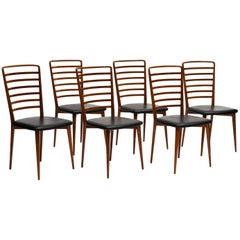 Set of Six Chairs in Perobinha do Campo by Joaquim Tenreiro, 1950s