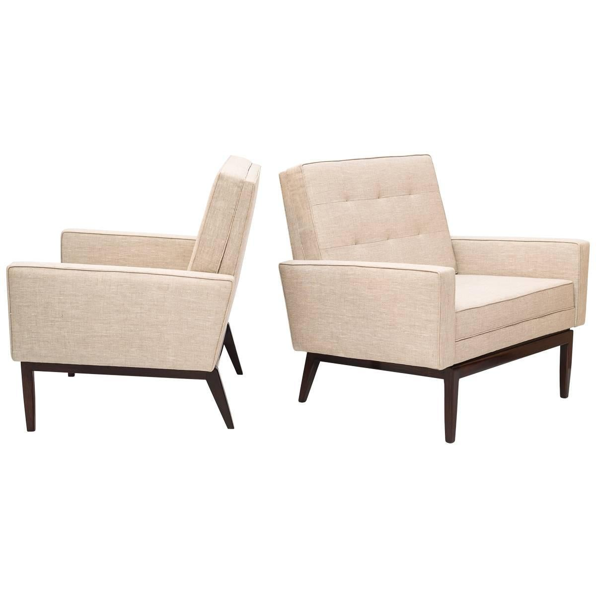 Forma Midcentury brazilian Armchair with Rosewood base, 1960s