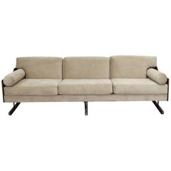 Midcentury Brazilian Sofa in Jacarandá by L'Atelier