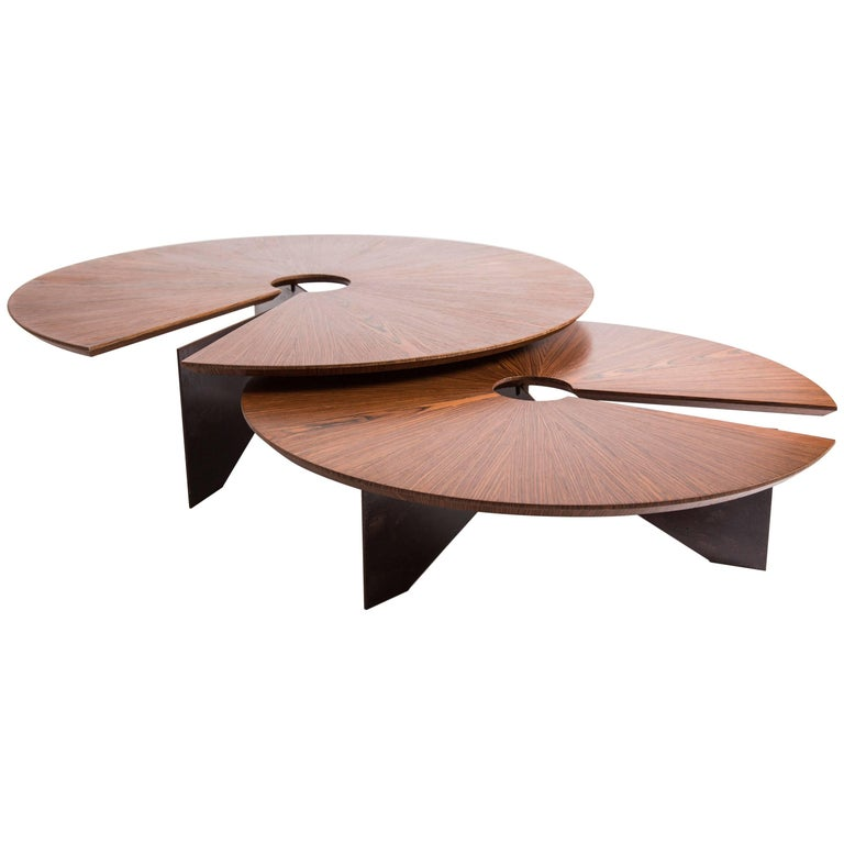Lena coffee table size large minimalist and modern style for Modern chic coffee tables