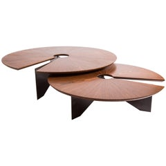 Lena Coffee Table, Size Medium, Minimalist and Modern Style
