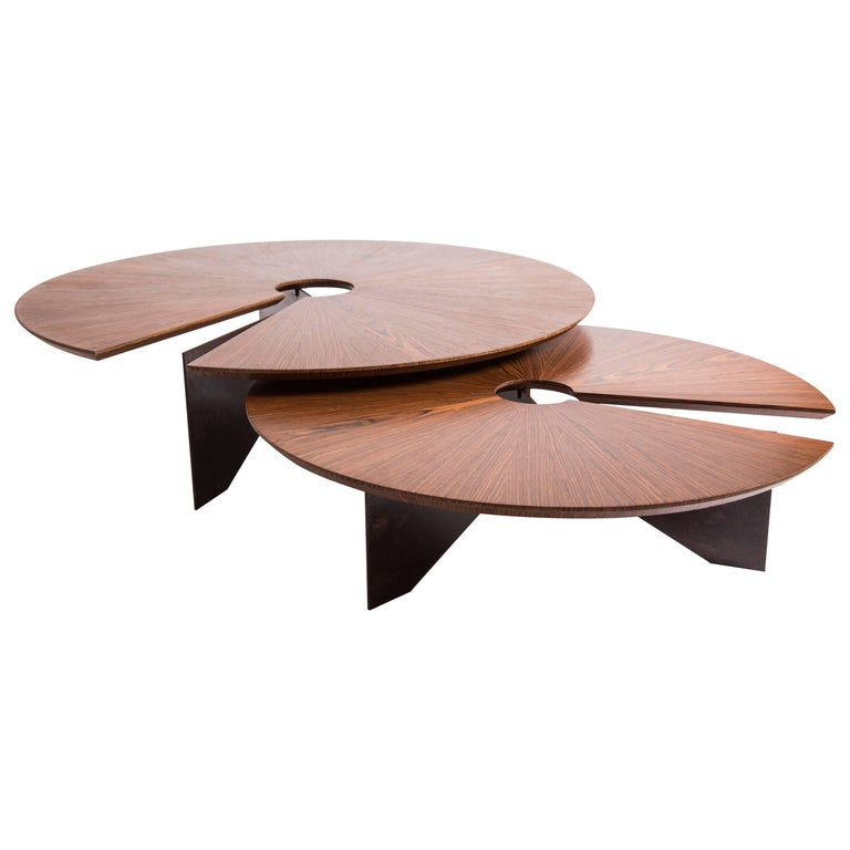 Lena coffee table size small minimalist and modern style for Modern chic coffee tables