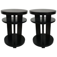 Pair of Side Tables by Paul Laszlo for Brown Saltman