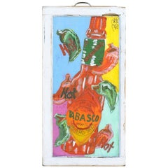 Tabasco Folk Art Painting by Popi Cotrell