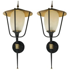 Pair of Maison Arlus Sconces