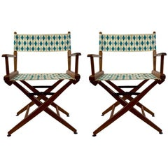 Pair of Folding Directors Chairs