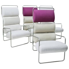 Lounge Chairs by Achille Castiglioni for Driade, Italy, Mid-20th Century