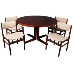 Midcentury Danish Modern John Mortensen for Heltborg Mobler Dining Set