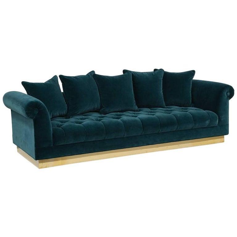 Deep Buttoned Sofa by Talisman Bespoke
