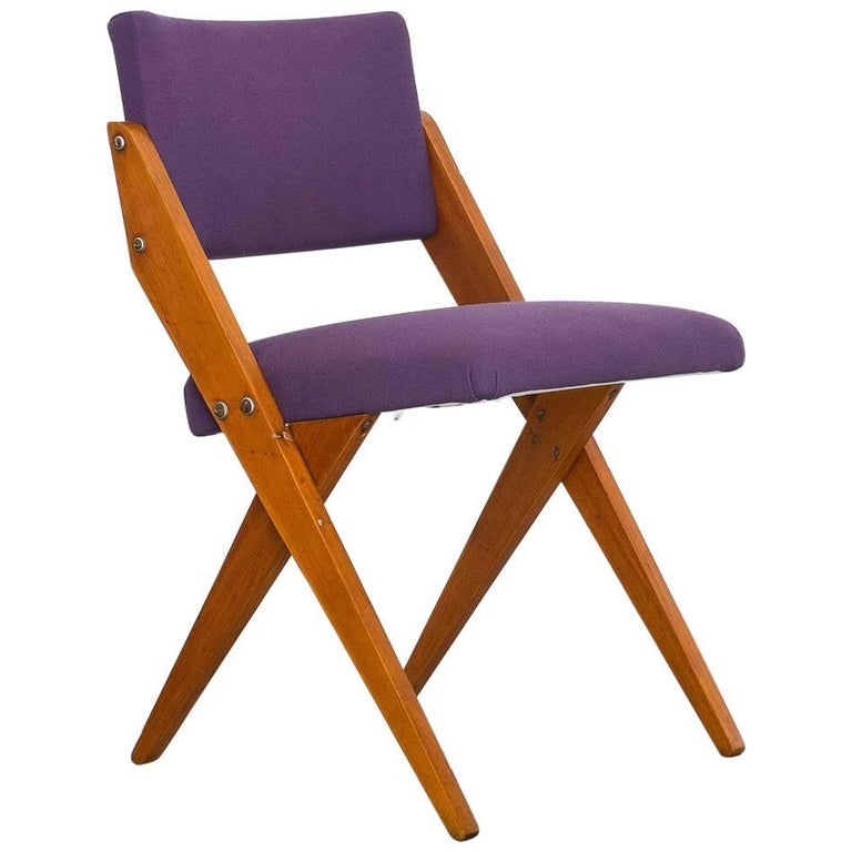 """José Zanine Caldas """"Tesoura"""" Chair in Pau Marfim Wood, Brazil, 1950s"""