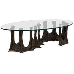 Paul Evans Studio for Directional Stalagmite Coffee Table, 1970