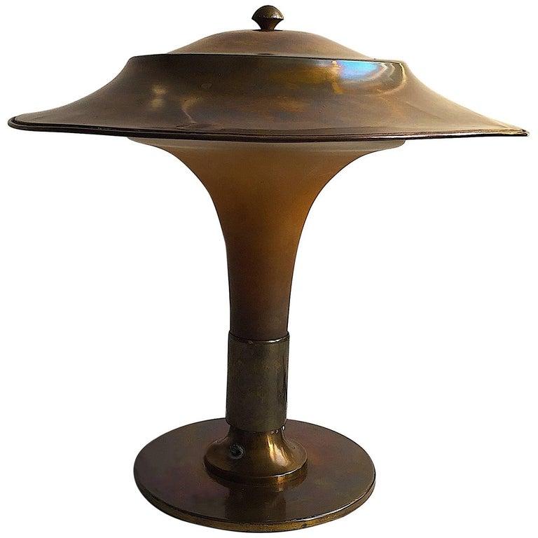 Fakkellampen Fog and Morup Art Deco Table Lamp