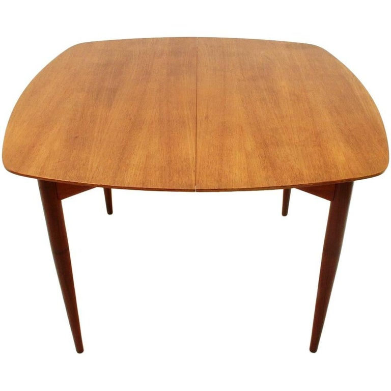 Italian Teak Extendable Dining Table with Brass Handle  : 9521671master from www.1stdibs.com size 768 x 768 jpeg 45kB