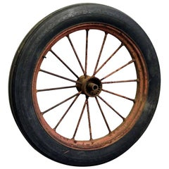 1915 Original Goodyear Farm Tractor Wheel