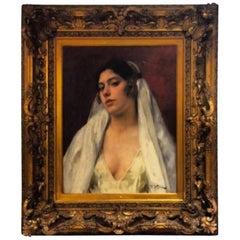 19th Century, the Oriental Beauty by Franz Xavier Kosler