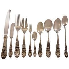 Richelieu, International Sterling Silver Flatware Service for 12 Set 135 Pieces