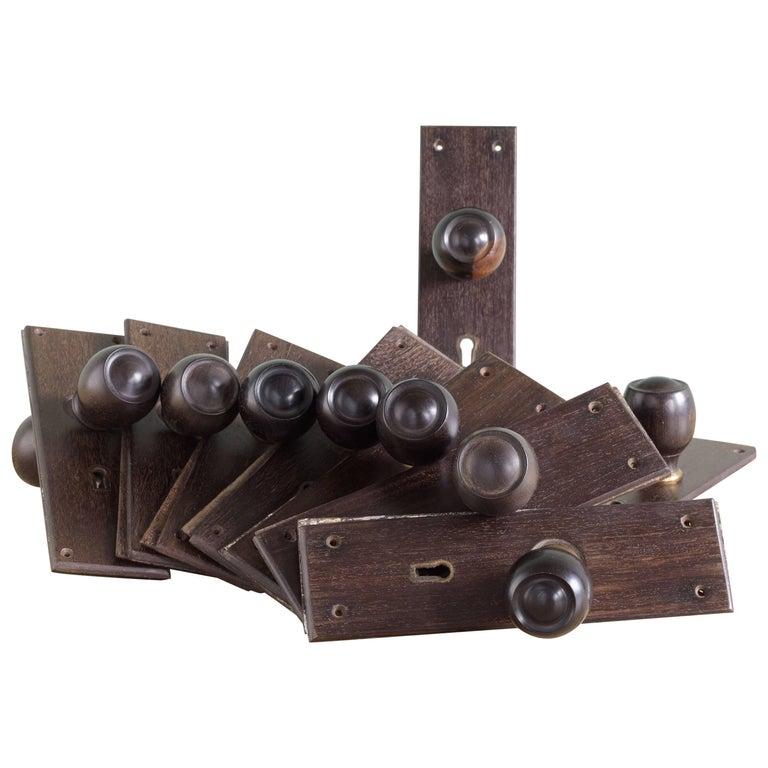 1920s ebony door handles for sale at 1stdibs for 1920s door handles
