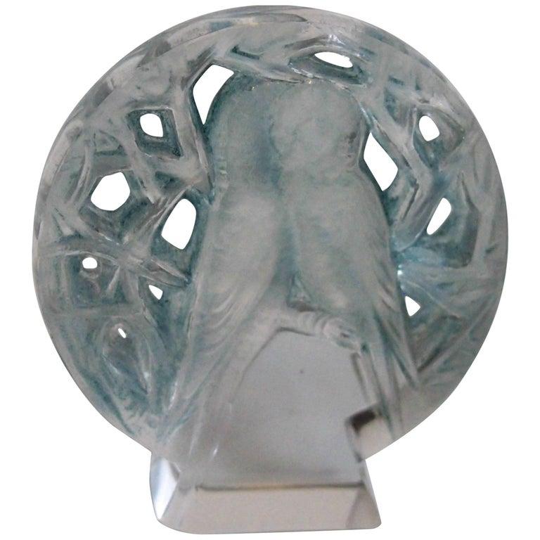 Art Nouveau Rene Lalique Perruches Cachet