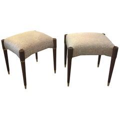 Pair of 1960s Danish Midcentury Benches