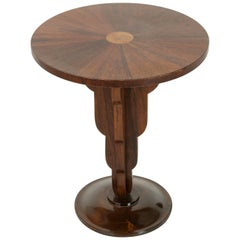 Early 20th Century French Art Deco Period Palisander Gueridon or Side Table