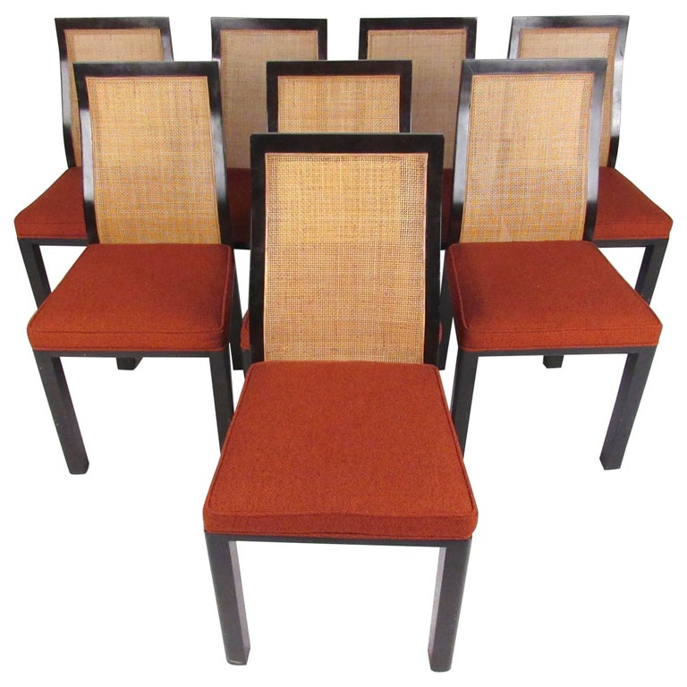 Set of Eight Harvey Probber Dining Chairs