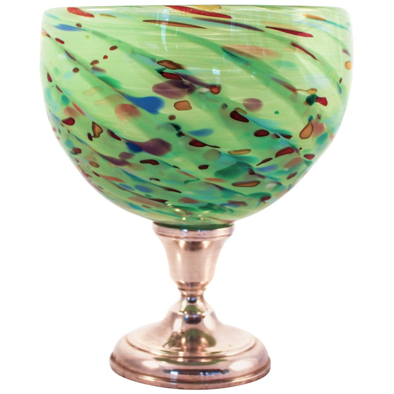 Colored Glass Bowl
