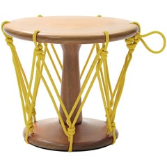 Baque Stool Yellow