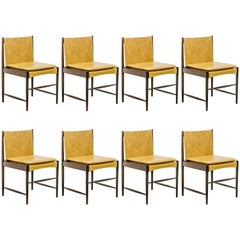 "Set of Six ""Cantu"" Chairs, Sergio Rodrigues, Brazilian, Midcentury"