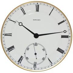 Wedgewood for Ralph Lauren Pocket Watch Pattern Plate, 1989