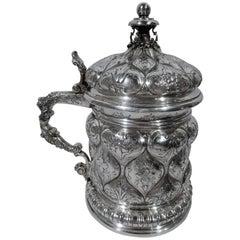 Ye Olde Teutonic Silver Tankard