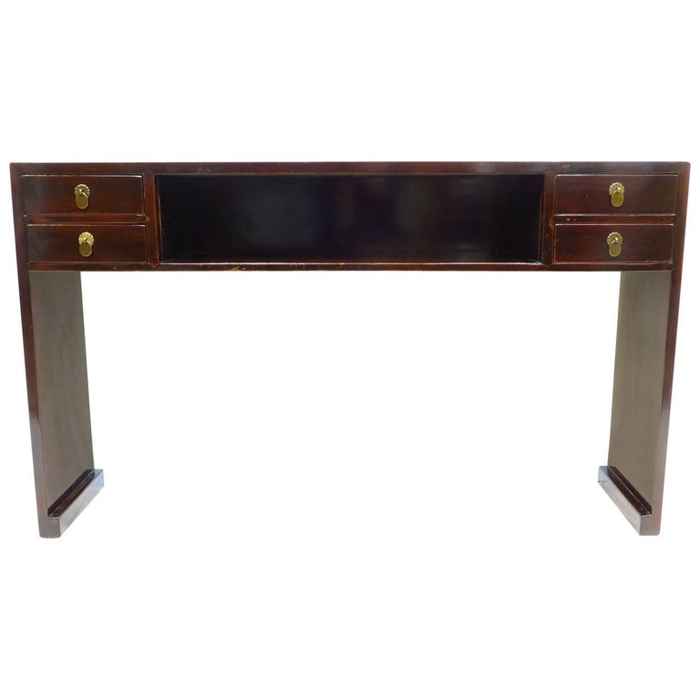 19th Century Compartment Console Table For Sale