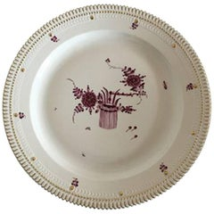 Royal Copenhagen Flora Danica Purpur Round Serving Tray