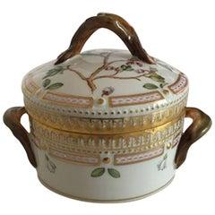 Royal Copenhagen Flora Danica Sugar Bowl #157