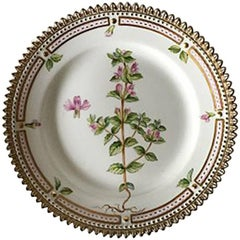 Flora Danica Side Plate #615