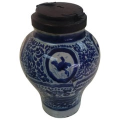 Talavera Mexican Spice Jar with Locking Lid Chocolatera