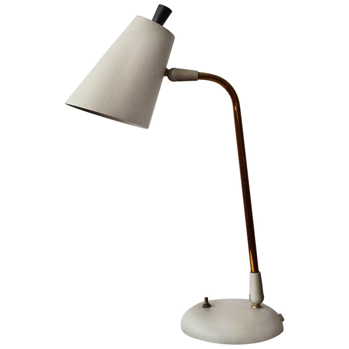 Ordinaire Gerald Thurston For Lightolier Table Lamp, 1950s For Sale