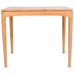 "Midcentury Oak Side Table ""Micado"" by Engström & Myrstrand for Tingströms"