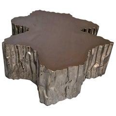 "Brass Coffee Table ""Ice"""
