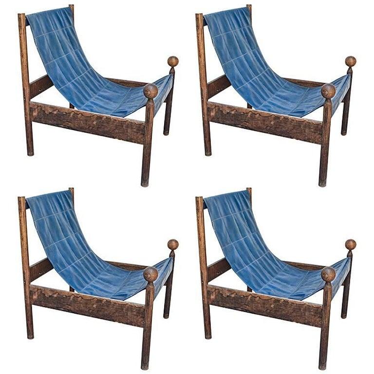 Ouro Preto Lounge Chairs, Jorge Zalszupin, Brazilian Midcentury