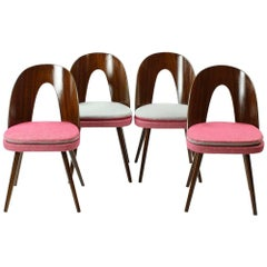 Tatra Chairs by Antonin Suman, Czechoslovakia, circa 1960, Set of Four