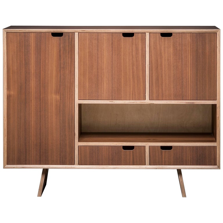 Bercil Sideboard, Designed and Handcrafted in Vienna by Lee Matthews