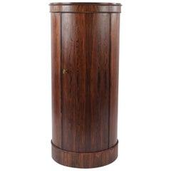 Johannes Sorth Danish Rosewood Pedestal Bar Cabinet