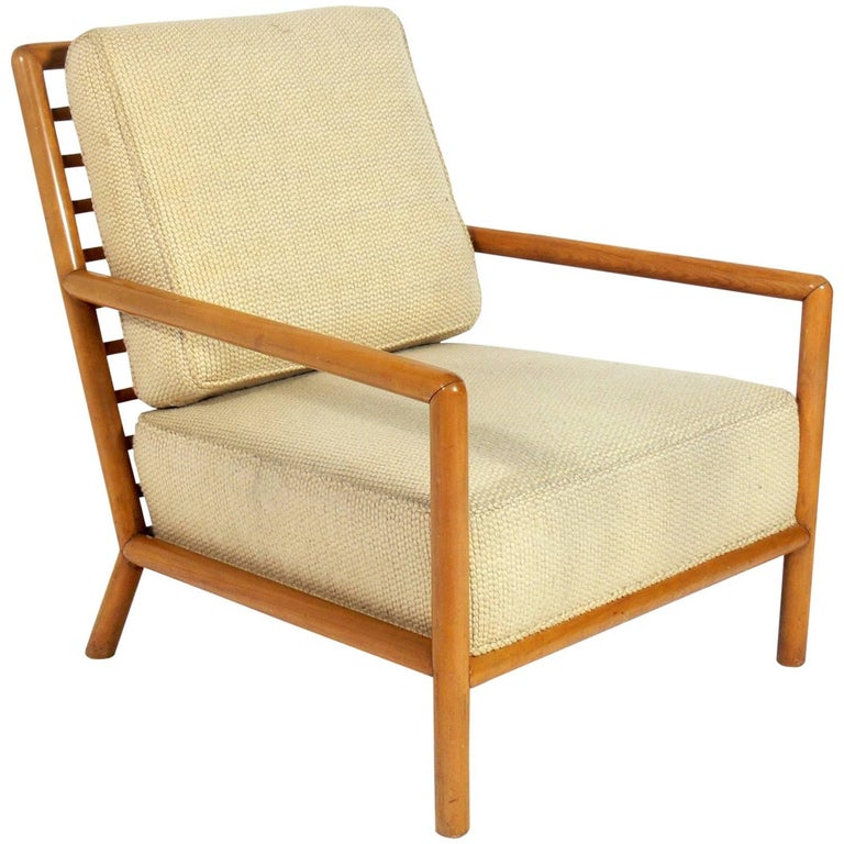 Large-Scale Modern Lounge Chair by T.H. Robsjohn-Gibbings
