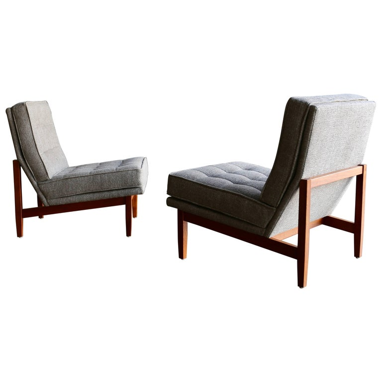 Slipper Lounge Chairs by Florence Knoll at 1stdibs