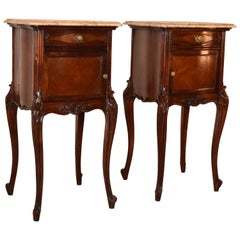 19th Century Pair of French Bedside Tables