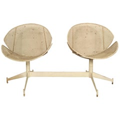 Maurizio Tempestini Double Chair Outdoor Seating