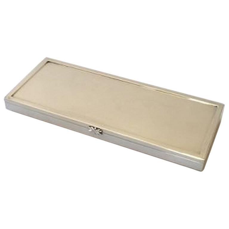 georg jensen sterling silver sigvard bernadotte box 929b for sale at 1stdibs. Black Bedroom Furniture Sets. Home Design Ideas