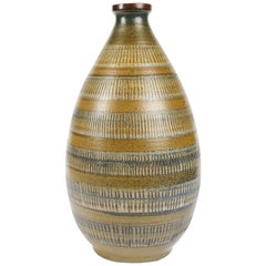 Arthur Andersson, Large Vase with Tapered Neck, Sweden, circa 1940s