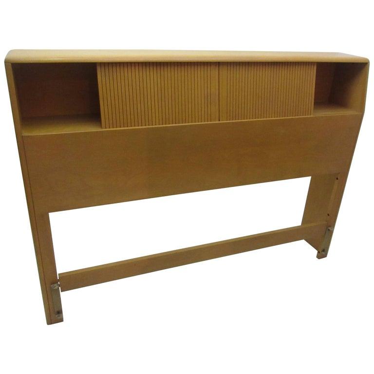 Heywood Wakefield Encore Storage Headboard Full Bed  1